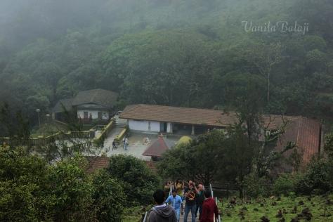 தலைக் காவேரி, பிரம்மகிரி மலையிலிருந்து....
