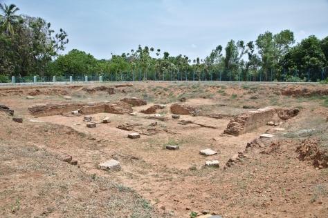 ராஜேந்திரரின் மாளிகையின் ஒரு பகுதி