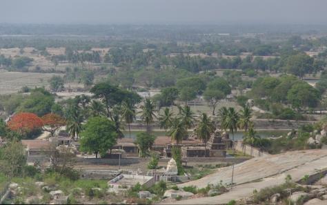 அவனி பெட்டாவிலிருந்து ராமலிங்கேஸ்வரா கோவில் வளாகம்